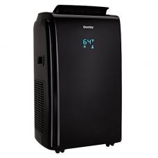 Danby 12000 BTU 3-in-1 Portable Air Conditioner and Dehumidifier + Remote, Black